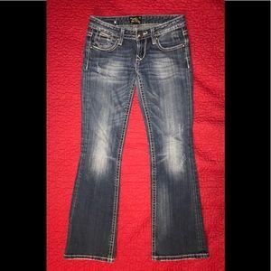 Express Rerock bootcut jeans